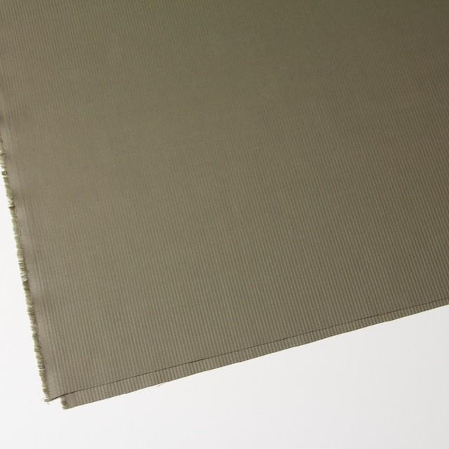 コットン&リネン×無地(カーキ)×ギャバジンストライプ_全2色 イメージ2