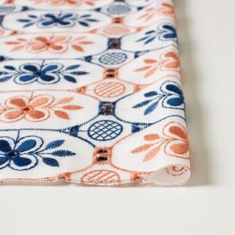 コットン×フラワー(ホワイト)×ローン刺繍_全2色 サムネイル3