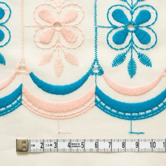 コットン×フラワー(キナリ)×ローン刺繍_全2色 サムネイル4