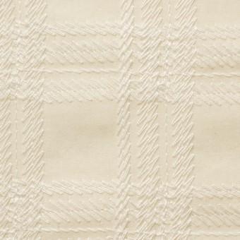 コットン×チェック(キナリ)×ローン刺繍_全3色 サムネイル1