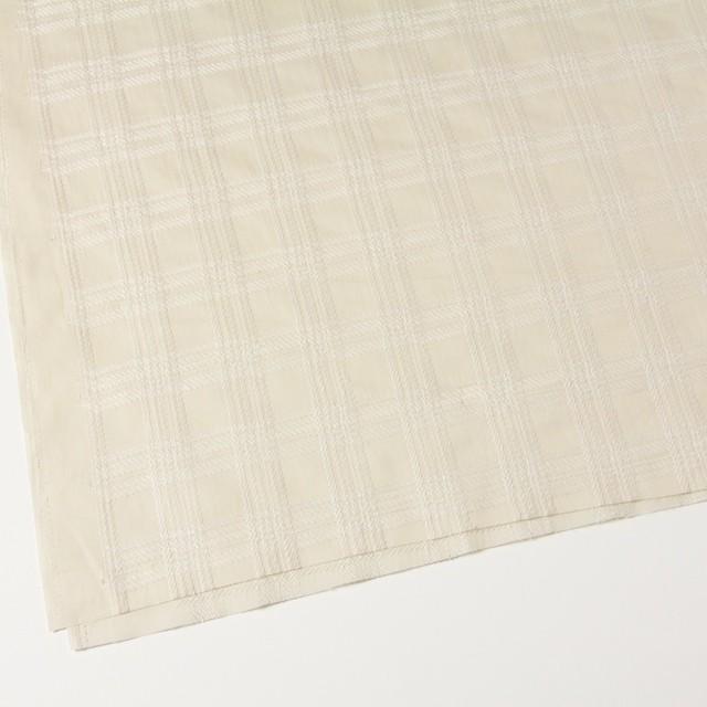 コットン×チェック(キナリ)×ローン刺繍_全3色 イメージ2