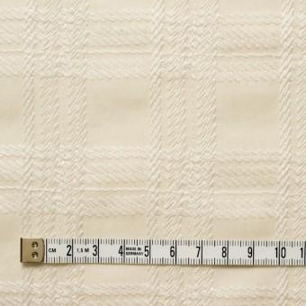 コットン×チェック(キナリ)×ローン刺繍_全3色 サムネイル4