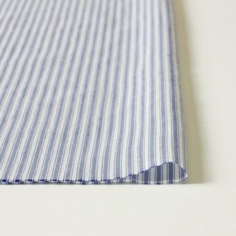 コットン&ポリ混×ストライプ(ブルー)×からみドビー サムネイル3
