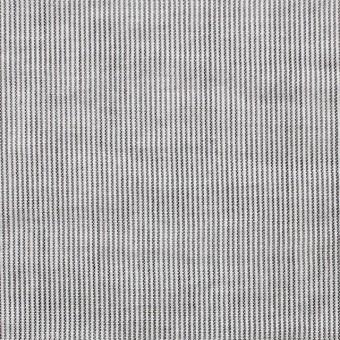 コットン&リネン×ストライプ(ブラック)×ローン サムネイル1
