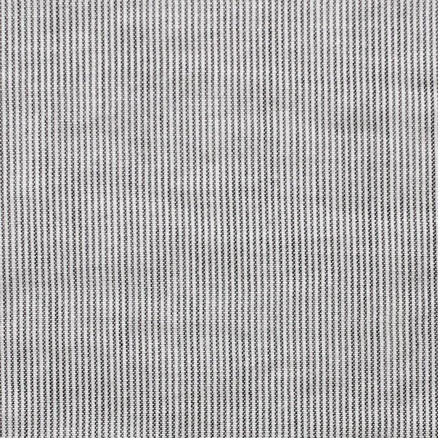 コットン&リネン×ストライプ(ブラック)×ローン イメージ1