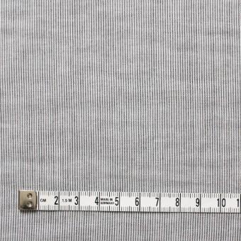 コットン&リネン×ストライプ(ブラック)×ローン サムネイル4