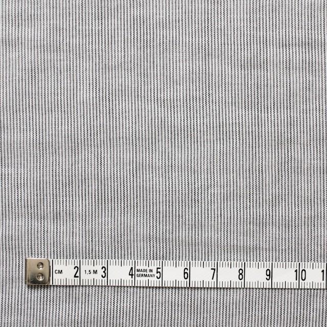 コットン&リネン×ストライプ(ブラック)×ローン イメージ4