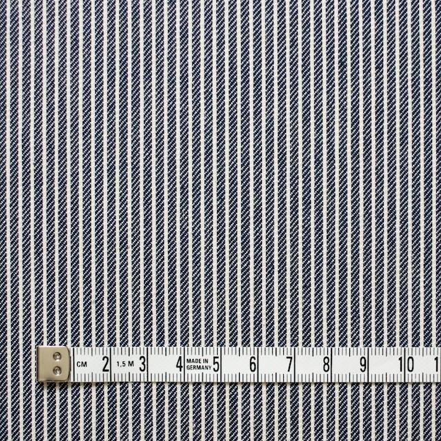 コットン×ストライプ(インディゴ)×デニムヒッコリー イメージ4