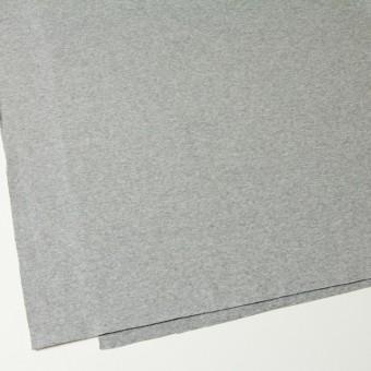 コットン×無地(ライトグレー)×スムースニット サムネイル2