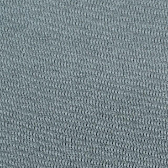コットン&モダール×無地(スモークグレー)×天竺ニット_全5色 イメージ1