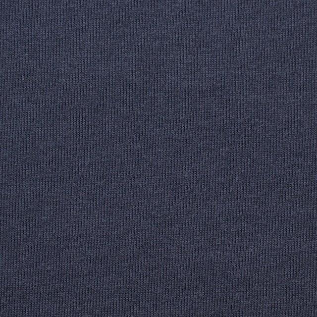 コットン&モダール×無地(ネイビー)×天竺ニット_全5色 イメージ1