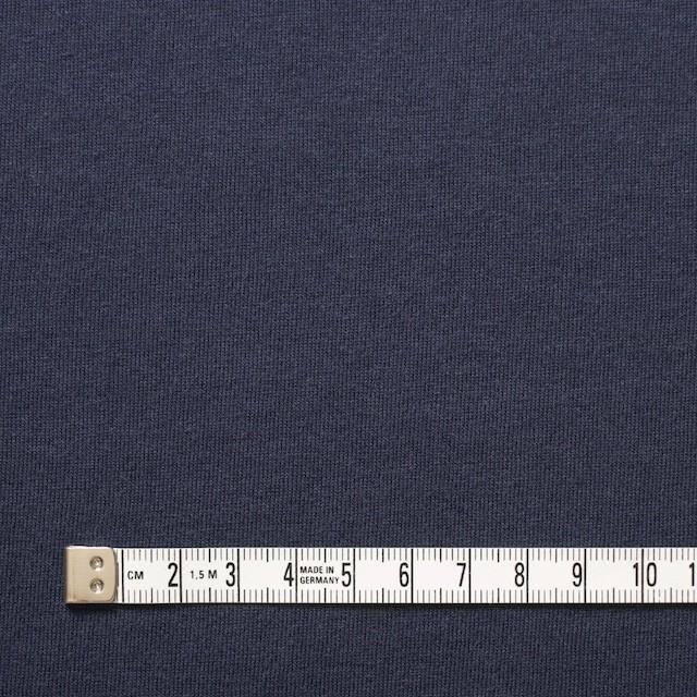 コットン&モダール×無地(ネイビー)×天竺ニット_全5色 イメージ4