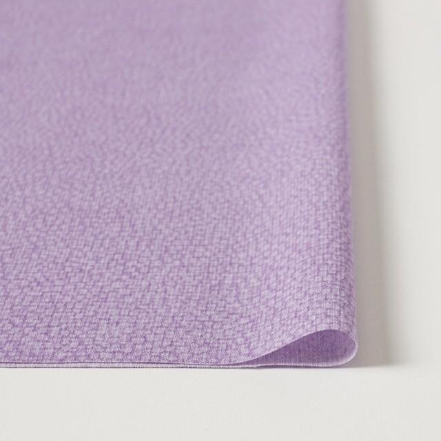 ポリエステル×幾何学模様(ピンクパープル)×ジョーゼット イメージ3