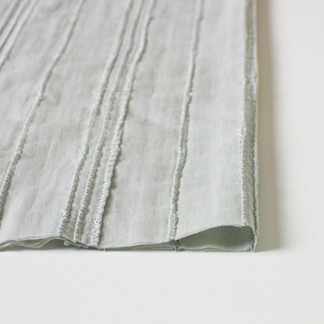 ナイロン&コットン×無地(シャーベットグリーン)×ボイル&ガーゼ_全3色 イメージ3