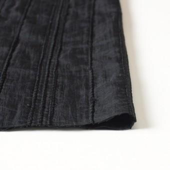 ナイロン&コットン×無地(ブラック)×ボイル&ガーゼ_全3色 サムネイル3