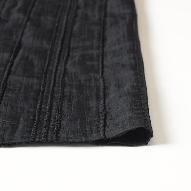 ナイロン&コットン×無地(ブラック)×ボイル&ガーゼ_全3色 イメージ3
