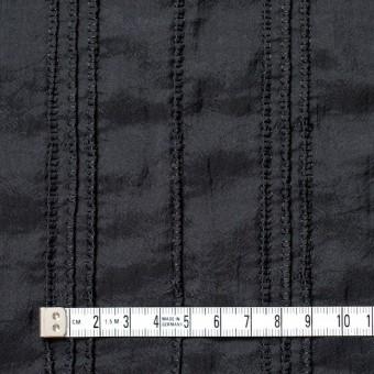 ナイロン&コットン×無地(ブラック)×ボイル&ガーゼ_全3色 サムネイル4