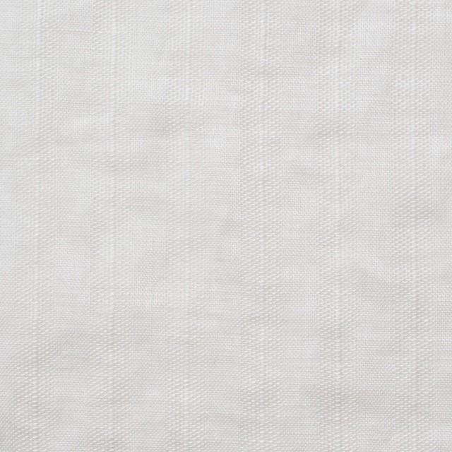 リネン×無地(ホワイト)×からみ織 イメージ1