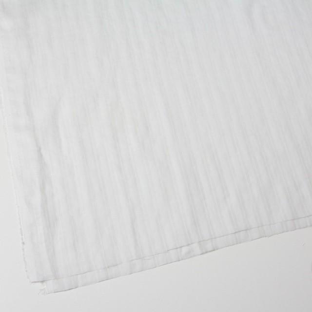 リネン×無地(ホワイト)×からみ織 イメージ2