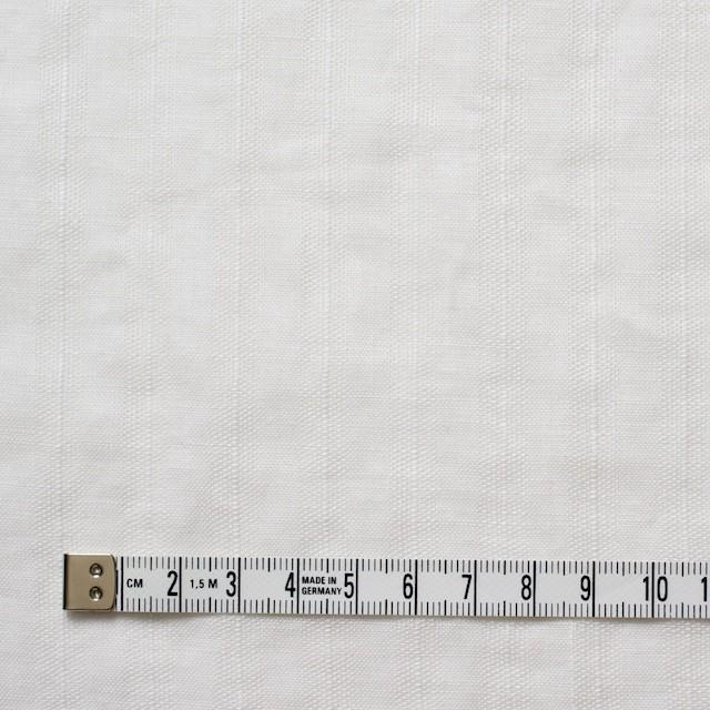 リネン×無地(ホワイト)×からみ織 イメージ4
