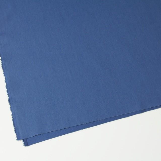 コットン×無地(ブルー)×ギャバジン_全2色 イメージ2