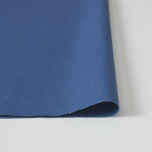 コットン×無地(ブルー)×ギャバジン_全2色 イメージ3