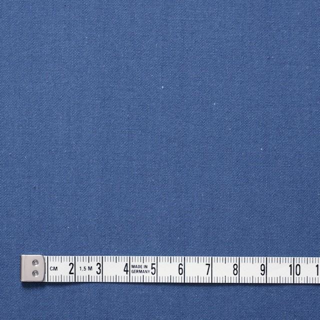 コットン×無地(ブルー)×ギャバジン_全2色 イメージ4