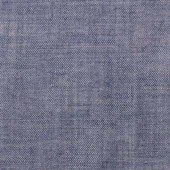 リネン×無地(ラベンダーブルー)×ガーゼ_フランス製 サムネイル1