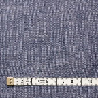 リネン×無地(ラベンダーブルー)×ガーゼ_フランス製 サムネイル4