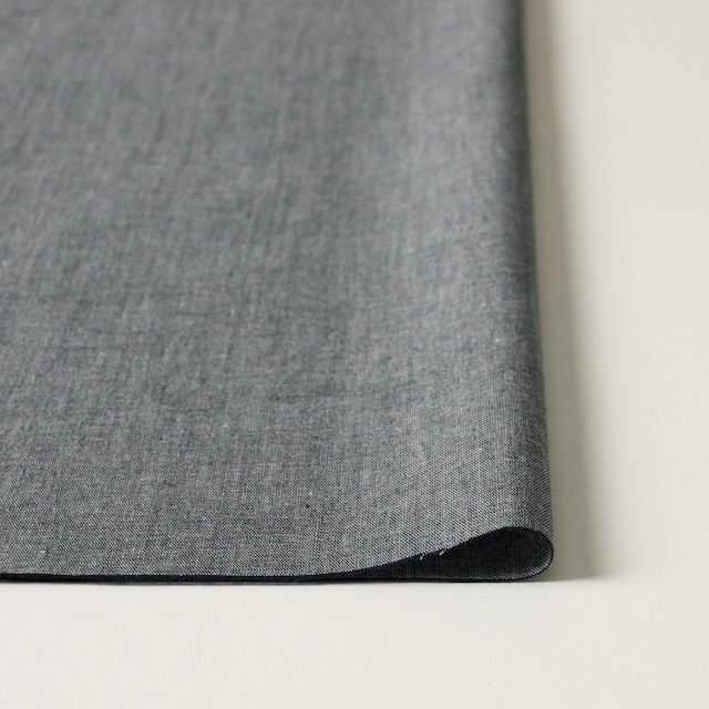 コットン×フラワー(ネイビー)×ダンガリー刺繍_全2色 イメージ3