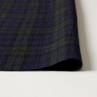 コットン×チェック(ブラックウォッチ)×かわり織 サムネイル3
