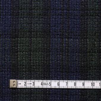 コットン×チェック(ブラックウォッチ)×かわり織 サムネイル4