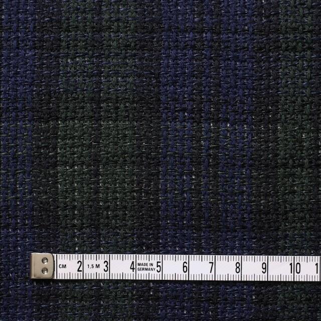 コットン×チェック(ブラックウォッチ)×かわり織 イメージ4