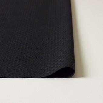 コットン×チェック(ブラック)×からみ織 サムネイル3