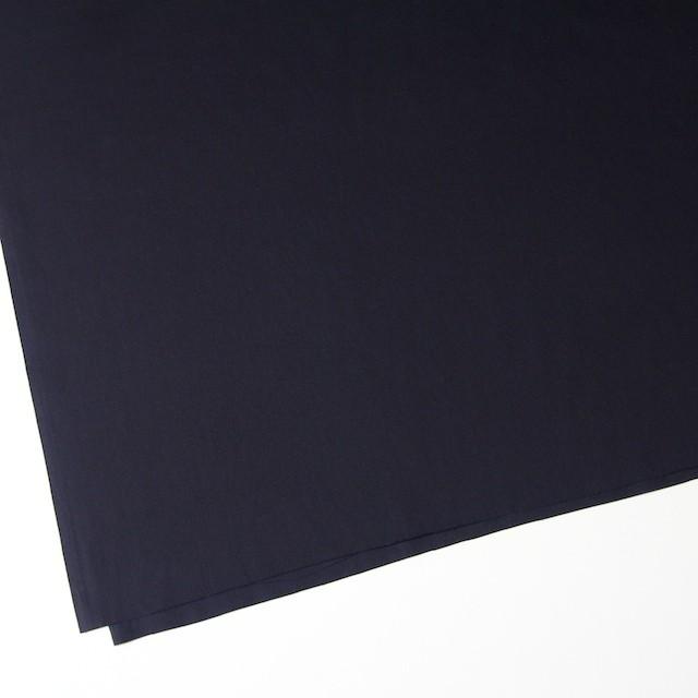 コットン&シルク×無地(ブラック)×薄サージ イメージ2