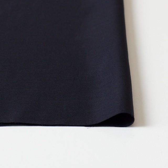 コットン&シルク×無地(ブラック)×薄サージ イメージ3