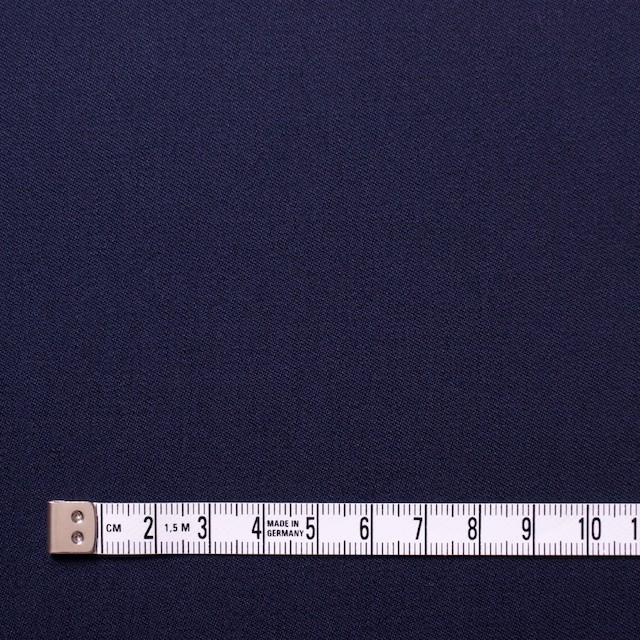 コットン×無地(ネイビー)×サージ イメージ4
