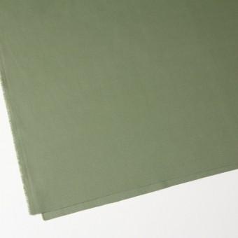 コットン×無地(カーキグリーン)×かわり織 サムネイル2