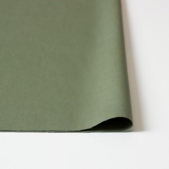 コットン×無地(カーキグリーン)×かわり織 サムネイル3