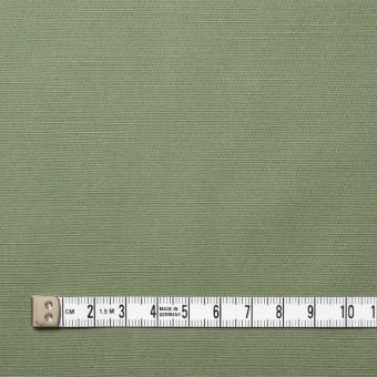 コットン×無地(カーキグリーン)×かわり織 サムネイル4