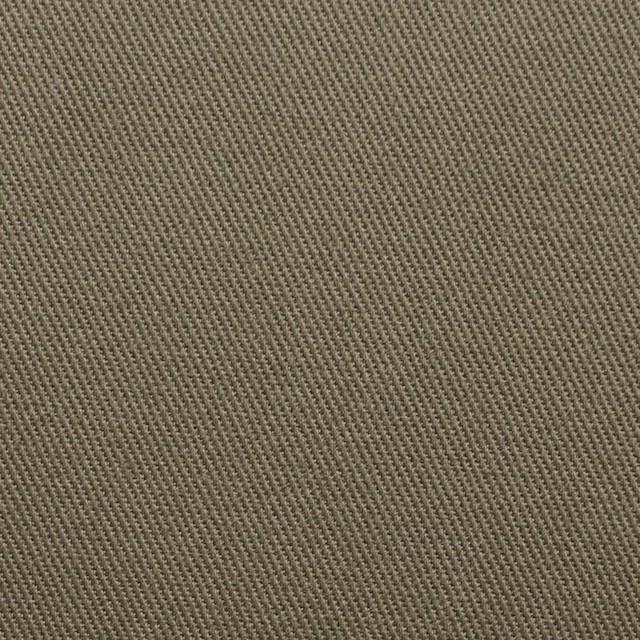 コットン&ポリウレタン×無地(カーキ)×カツラギストレッチ イメージ1