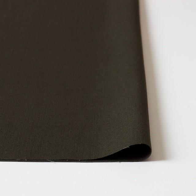 コットン&リネン×無地(ダークブラウン)×チノクロス イメージ3