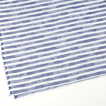 コットン×ボーダー(ブルー)×迷彩ジャガード_全2色 サムネイル2