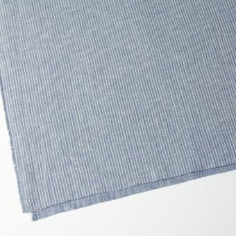 コットン&リネン×ストライプ(ブルー)×Wガーゼ_全2色 サムネイル2