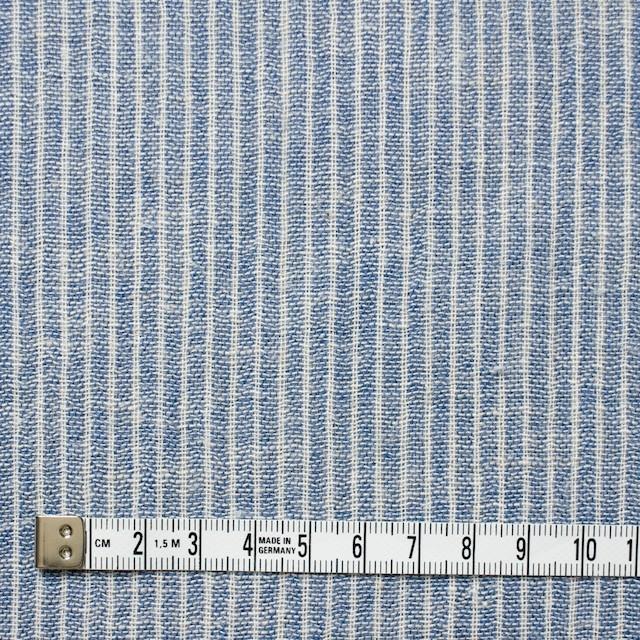 コットン&リネン×ストライプ(ブルー)×Wガーゼ_全2色 イメージ4