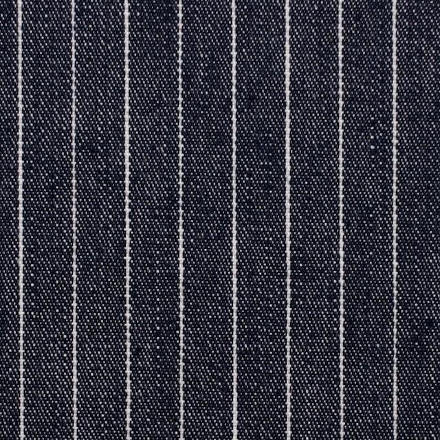 コットン×ストライプ(ネイビー)×デニム_全3色 イメージ1