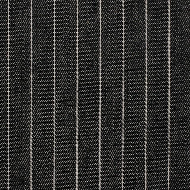 コットン×ストライプ(ブラック)×デニム_全3色 イメージ1