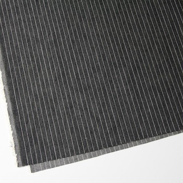 コットン×ストライプ(ブラック)×デニム_全3色 イメージ2