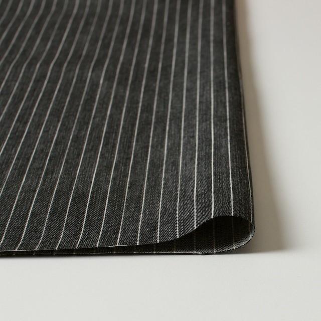 コットン×ストライプ(ブラック)×デニム_全3色 イメージ3
