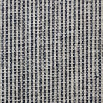 コットン&リネン×ストライプ(コームストライプ)×薄キャンバス_全2柄 サムネイル1